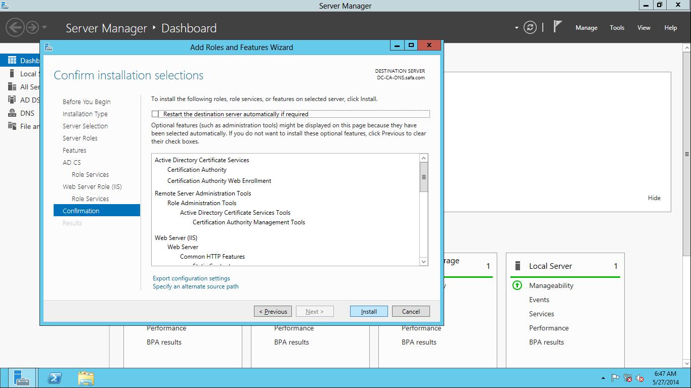 Active Directory ve Lync Server 2010 Kurulumu
