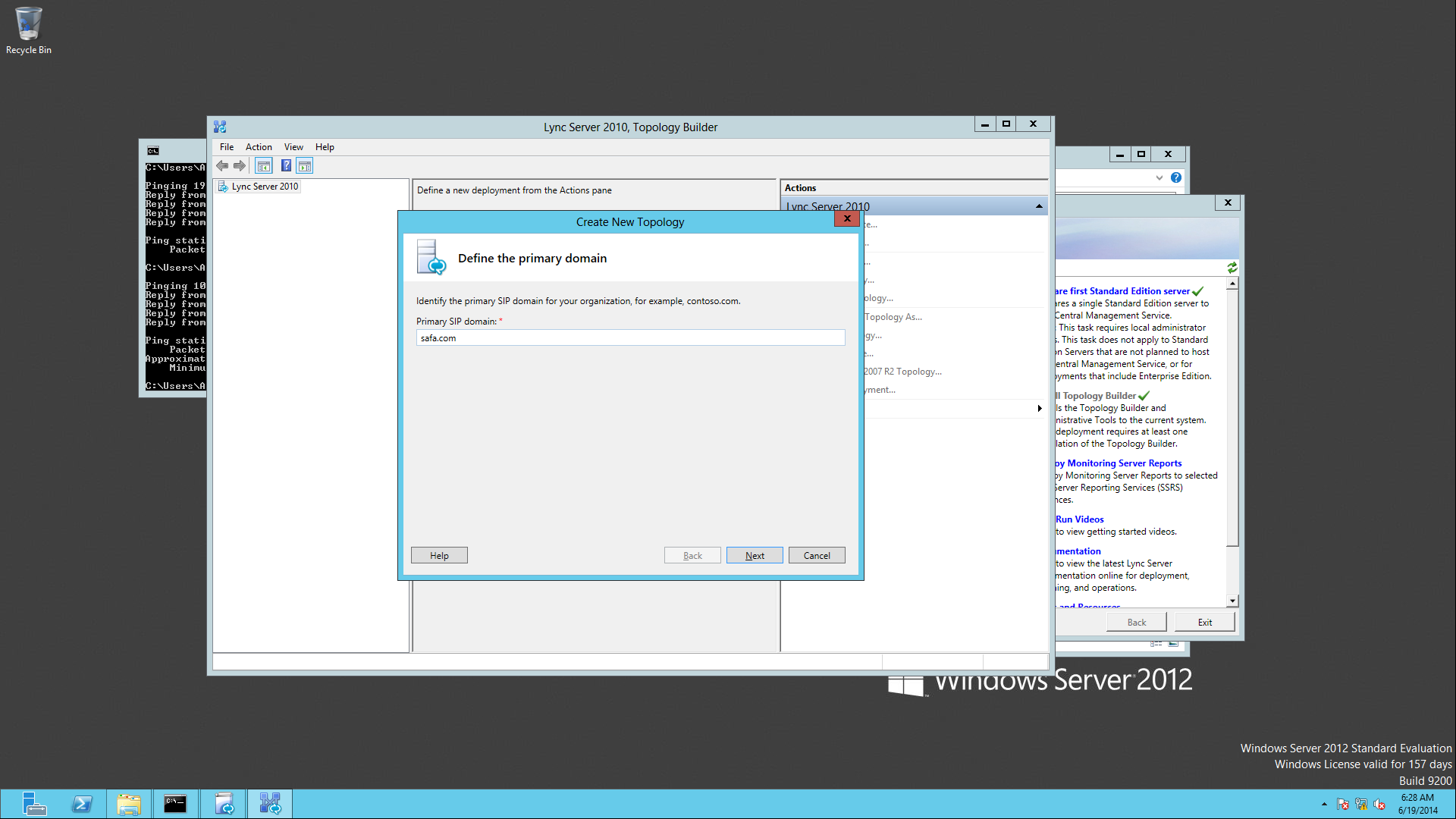 Active Directory ve Lync Server 2010 Kurulumu