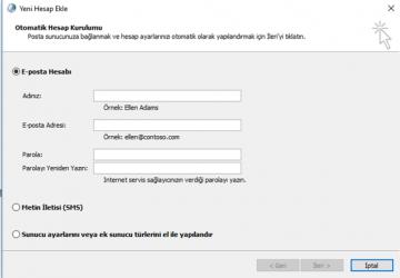 Microsoft Outlook'ta Profil nasıl oluşturulur? Bölüm-1