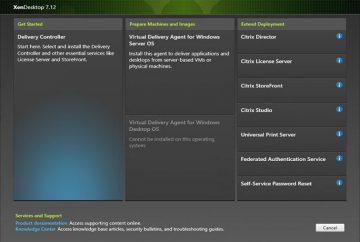Citrix XenDesktop 7.12  Kurulum