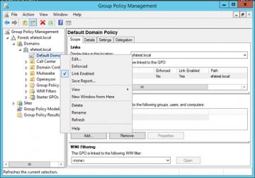 Windows Server 2012 R2'de Complex Password Özelliği nasıl kapatılır?