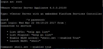 Unutulan vCenter 6 Administrator Şifresini SSH ile nasıl değiştirtirilir ?