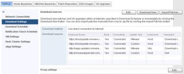 vSphere Update Manager Harici Repository Nasıl Eklenir ?