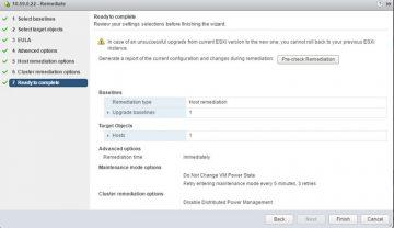 vSphere Update Manager la ESXI Versiyonu Nasıl Güncellenir