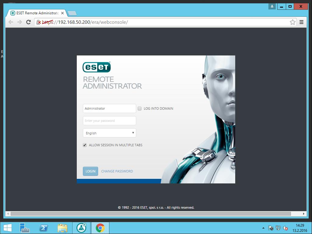 ESET Remote Administrator Server Kurulumu nasıl yapılır?
