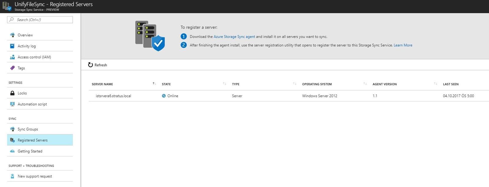 Microsoft Azure – File Sync nedir, ne yapar?