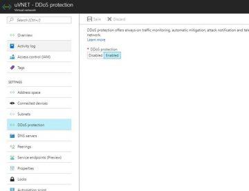 Azure DDoS Protection Service nedir ve ne yapar?