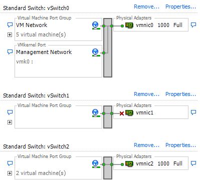 VMware CLI ile Ethernet Up-Down işlemi nasıl yapılır?
