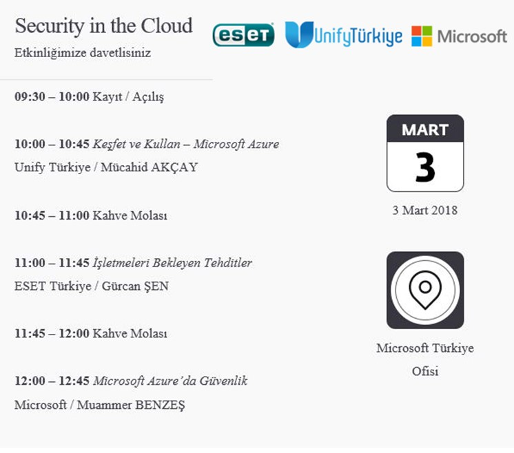 Security in the Cloud Meetup