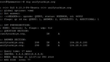 Dig komutu ile DNS Sorgulama nasıl yapılır?
