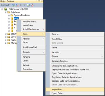 Microsoft SQL Server'da Tablo nasıl geri dönülür?