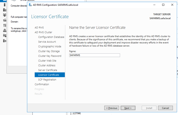 Active Directory Right Management Servis kurulumu ve konfigürasyonu nasıl yapılır?