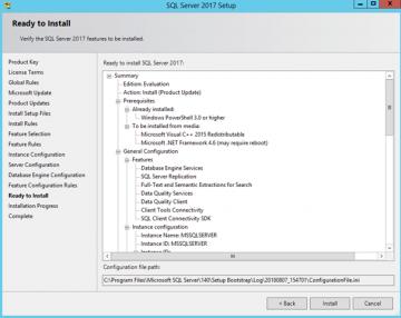 Microsoft SQL Server 2017 Kurulumu ve Önemli Noktaları