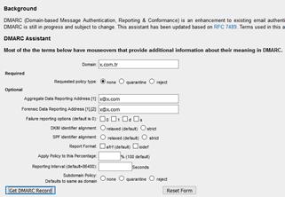 DMARC Kaydının Oluşuturulması  ve Kontrolü nasıl yapılır?