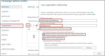 Microsoft Office 365'te Takvim nasıl paylaşılır?