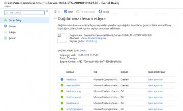 Ubuntu 18.04 LTS Üzerine NextCloud Kurulumu nasıl yapılır? – Bölüm 2 (Azure Üzerinde Ubuntu Server Kurulumu)
