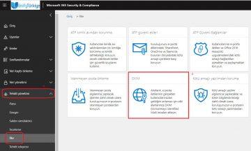 Office 365'te DKIM kaydı nasıl yapılır?