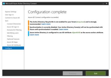Microsoft Azure Active Directory Connect nasıl kurulur ve ilk ayalar nasıl yapılır?